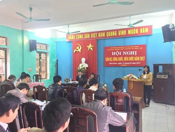 Đ/c Nguyễn Ngọc Hà tham luận tại Hội nghị